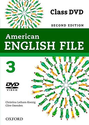 American English File 2E 3 Class DVD