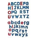 Letras Magnéticas,Letras de Goma EVA- Letras didácticas magnéticas de Espuma Blanda(Minúsculas...