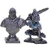 DADATU 2pcs/Set 5cm Dark Souls 3 Artorias Faraam Knight Edición Limitada Avatar NS Estatua El Abysswalker PVC Figura Coleccionable Modelo Juguete
