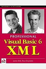 Professional Visual Basic 6 XML Paperback