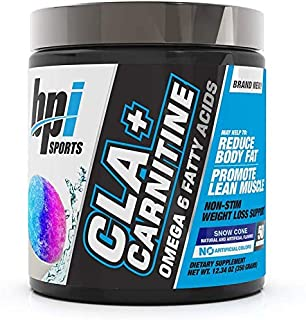BPI Sports CLA + Carnitine – Conjugated Linoleic Acid – Weight Loss Formula – Metabolism, Performance, Lean Muscle – Caffe...
