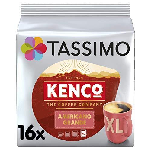 TASSIMO Kenco Americano Grande16 T DISCs (Pack of 5, Total 80 T DISCs)