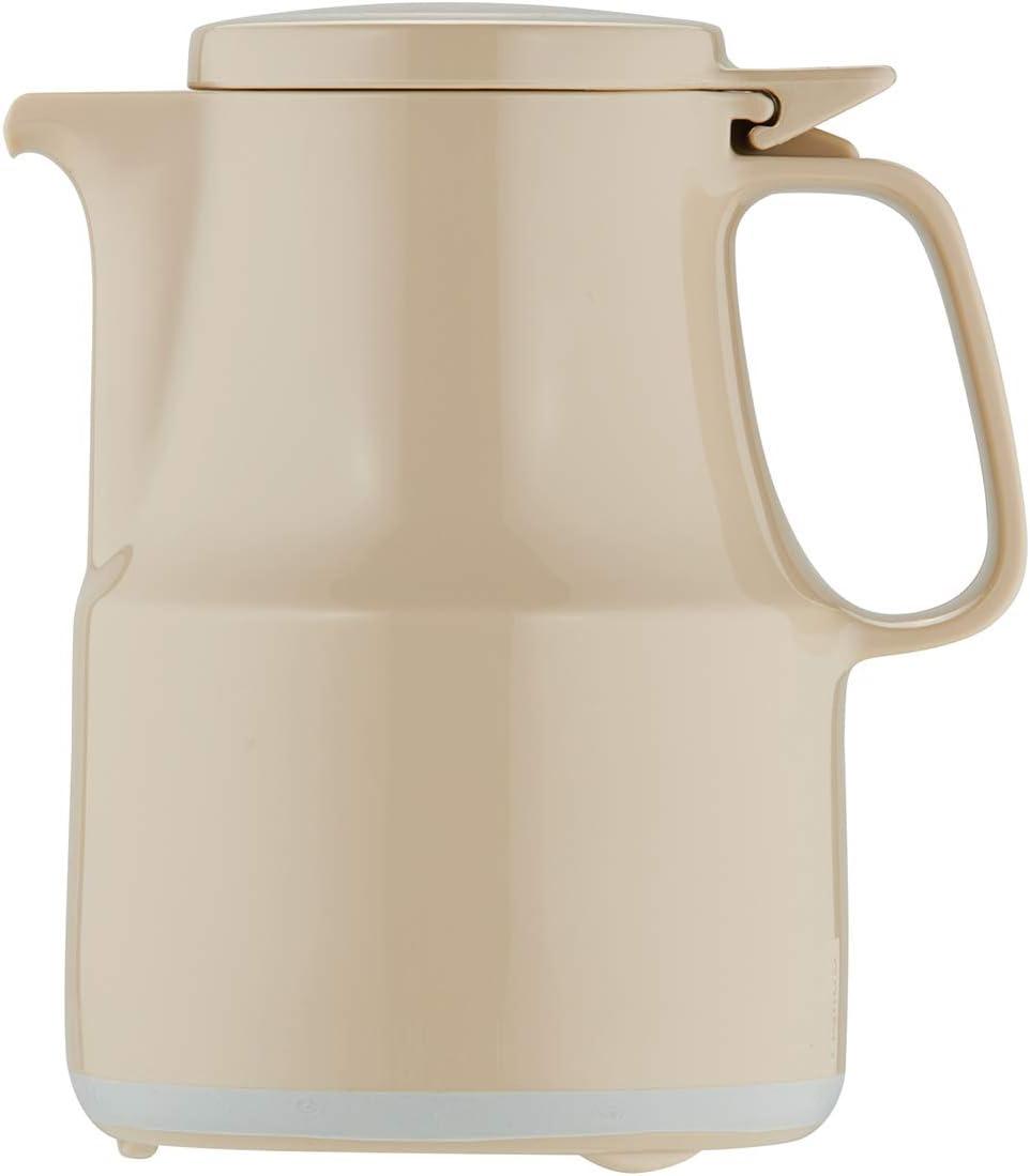 0,6 Liter Helios Thermoboy Kunststoff-Isolierkanne beige