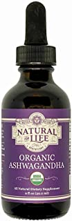 Sponsored Ad - Natural For Life Organic Ashwagandha for Stress, Support Energy and Vitality, 2 Fl oz