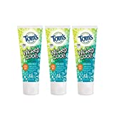 Tom's of Maine Natural Fluoride Wicked Cool! Children's Toothpaste, Natural Toothpaste, Kids Toothpaste, Mild Mint, 4.2 Ounce, 3-Pack