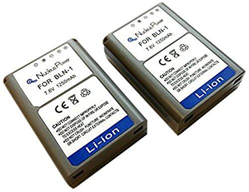 【 1年保証 】【 2個セット 】 オリンパス BLN-1 互換バッテリー OLYMPUS OM-D E-M1/OM-D E-M5/PEN E-P5...Nucleus Power製 BLN-1*2