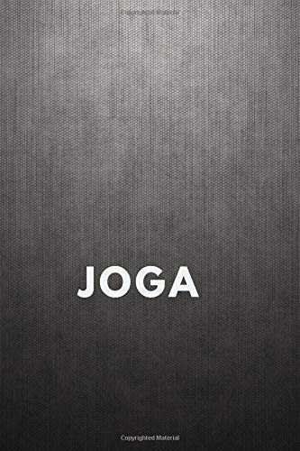 Joga: Motivational Notebook, Journal, Diary, (110 Pages, Line , 6 x 9)