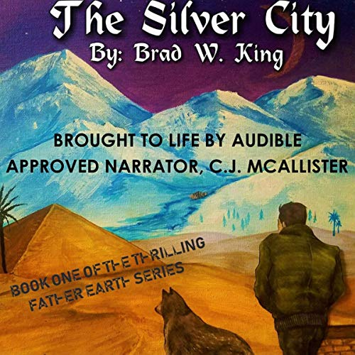 The Silver City: An Adventure/Sci-Fi Classic audiobook cover art