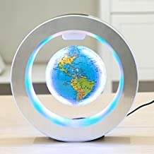YANGHX Levitation Floating Globe 4inch Rotating Magnetic Mysteriously Suspended in Air..