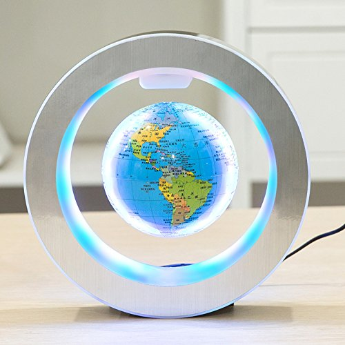 YANGHX Levitation Floating Globe 4inch Rotating Magnetic Mysteriously Suspended in Air...