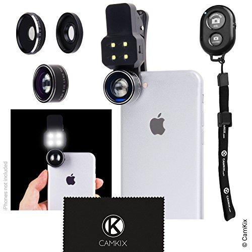 Ego de Lentes para Camara Universal 3 en 1 para Telefonos - MV (Control Remoto del Obturador de la cámara - Negro)
