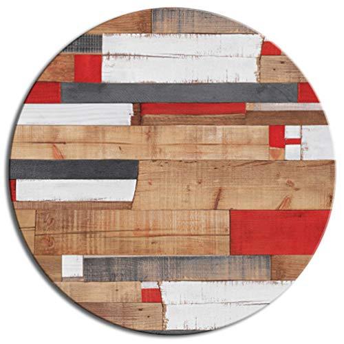 Tischplatte Werzalit Dekor Kbana Rouge 60 cm rund wetterfest Ersatztischplatte Bistrotisch Stehtisch Tisch Gastronomie