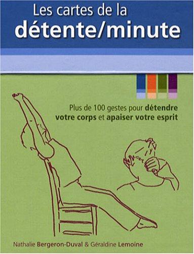 Les cartes de la détente/minute