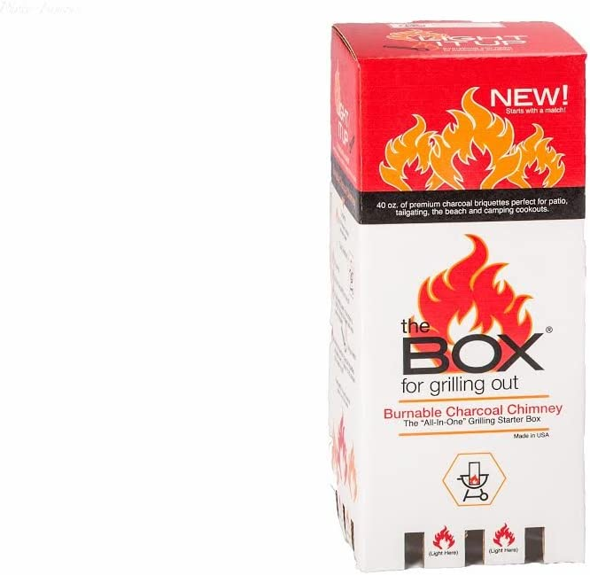 the BOX Burnable Chimney 70% OFF Sacramento Mall Outlet Charcoal