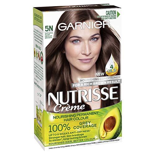 Garnier Nutrisse Permanent Hair Colour 5N Nude Medium Brown