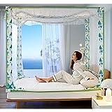 Jjabc - Mosquitera portátil para dormitorio, camping, fácil instalación 9 Talla:2.0*2.2m