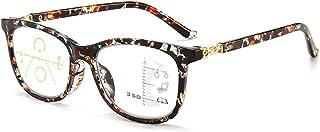Progressieve multifocale leesbril voor vrouwen mannen anti-blauw lichtfilter computerbril draadloze multifocale leesbril