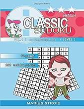 Classic Sudoku - medium, vol. 1: sudoku 9 x 9