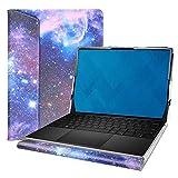 Alapmk Diseñado La Funda para 13.4' DELL XPS 13 9300 Series Laptop[No Compatible con: XPS 13 7390 9380 9370 9360 9350/XPS 13 2-in-1 9365 7390],Galaxy