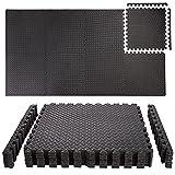ONVAYA® Bodenschutzmatten | Unterlegmatten für Fitnessgeräte, Bürostuhl oder Schreibtisch | Puzzlematte für Sport & Fitness | Spielmatte für Kinder | Sportmatte aus Schaumstoff