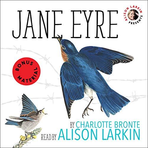 Alison Larkin Presents: Jane Eyre audiobook cover art