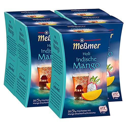 Meßmer Indischer Holi  Drachenfrucht-Mango, 5er Pack (5 x 45 g)