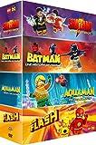 Lego DC Super Heroes - Shazam! : Monstres et magie + Batman : Un histoire de famille + Aquama : Rage of Atlantis + The Flash [Francia] [DVD]