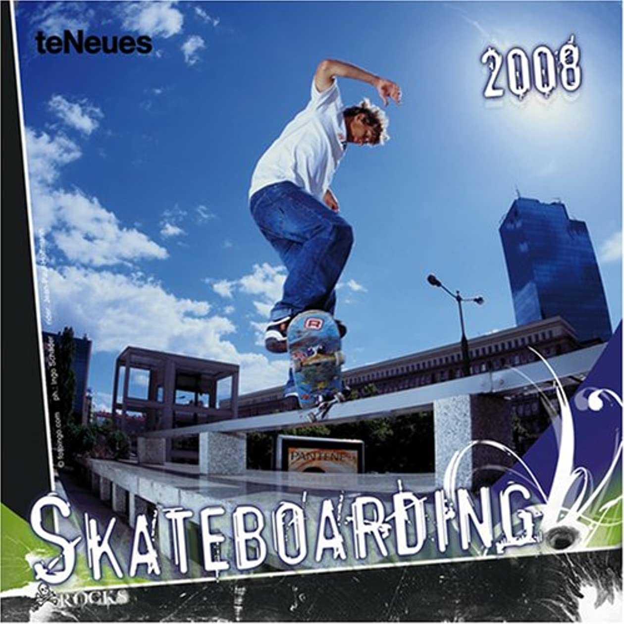 運命松明精算Skateboarding 2008 Calendar