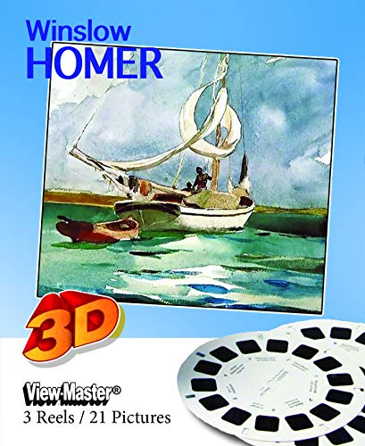 ViewMaster - Winslow Homer Paintings in 3D - 3 Reels Feature 21 Images - New