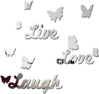 Best live laugh love mirror decals Reviews
