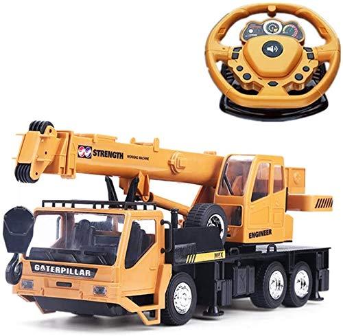 Tagke Rc grúa sobre orugas Ingeniería Eléctrica Camión del coche eléctrico modelo...