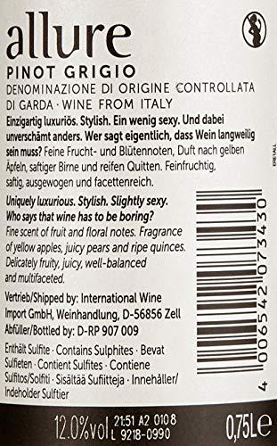 allure Pinot Grigio Halbtrocken - 5