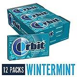 ORBIT Wintermint Sugarfree Chewing Gum, 14 Pieces (Pack of 12)