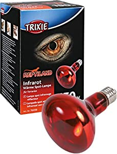 TRIXIE Lámpara Calefactante Infrarrojo, ø95 x 130 mm, 150 W, Reptiles