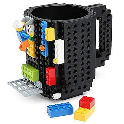 HATU Build-On Brick Mug (Black)