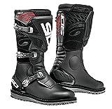 Sidi Trialゼロ1バイクトライアルDirt Off Road Motorcycle Boots–ブラック46