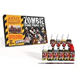 The Army Painter   Zombie Core Paint Set  10 Warpaints para la Pintura de todo tipo de Zombis   Incluye...