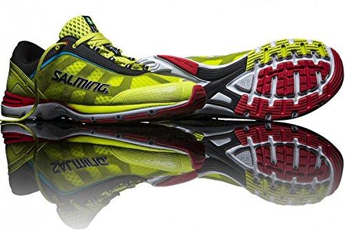 Salming Distance Zapatillas de deporte para hombre, color verde, talla 47 1/3 EU / 11.5 UK / 12.5 US