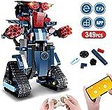 JOUETS STEM ÉDUCATIFS - Présentez aux enfants la pierre angulaire des meilleurs jouets STEM éducatifs afin de favoriser leur curiosité. En tant qu'enfant, rassemblez les différentes parties et découvrez le fonctionnement du système de construction, ce qui incite à la patience et à la concentration, tout en développant leur coordination œil-main, leur capacité de raisonnement logique et leur créativité. Construire, apprendre et commander à distance des robots n'a jamais été aussi amusant!