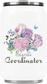 Water Bottle Chaos Coordinator Travel Mug Stainless Steel Coffee Tea Cup 10.3 Ounce