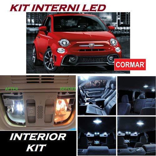 KIT LED INTERNI 500 S C 3 PORTE FULL WHITE 6000K