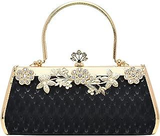 HMNS Damen Abendtaschen Clutch Handtasche Kette Umhängetaschen Party Prom Hochzeit Clutch Bag