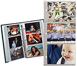 Pioneer Refill Pages for 3-Ring Photo Albums, holds 4x6 Photos Pack of 10 Pages