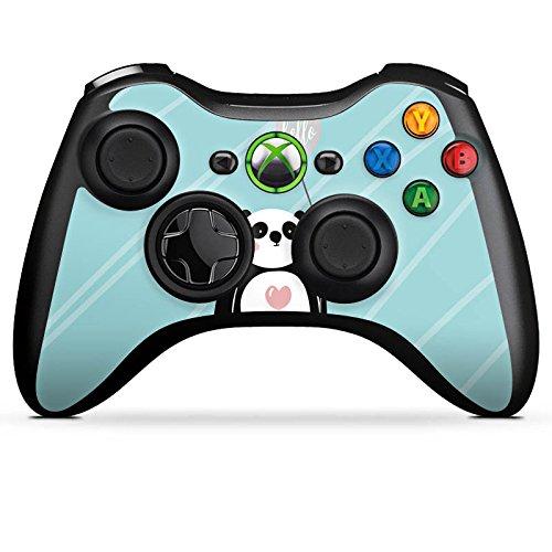 Skin kompatibel mit Microsoft Xbox 360 Controller Aufkleber Folie Sticker Panda Comic Zeichentrick