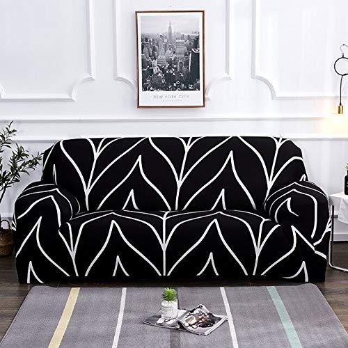 Fundas elásticas Fundas elásticas Antipolvo para sofá para Sala de Estar Funda para sofá Funda para sillón A28 2 plazas
