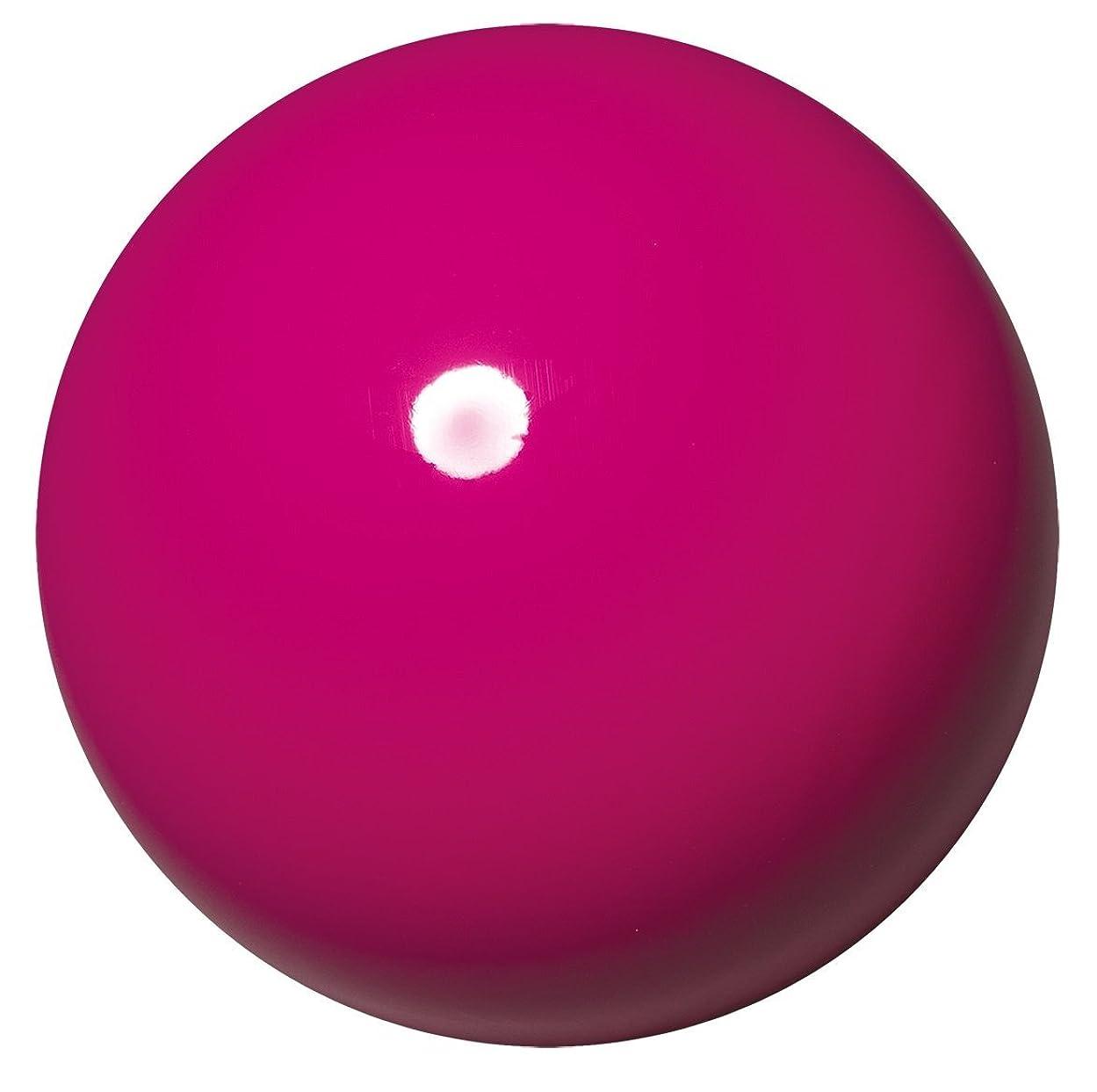 依存がんばり続けるマイルドササキ(SASAKI) 新体操 手具 ボール 国際体操連盟認定品 日本体操協会検定品 ジムスターボール 直径18.5cm M-20A-F