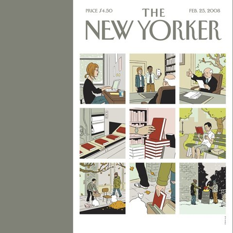 The New Yorker (February 25, 2008) audiobook cover art