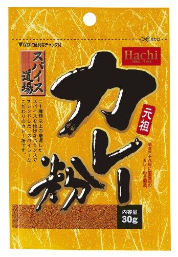 ハチ食品 スパイス道場元祖カレー味30g×10袋
