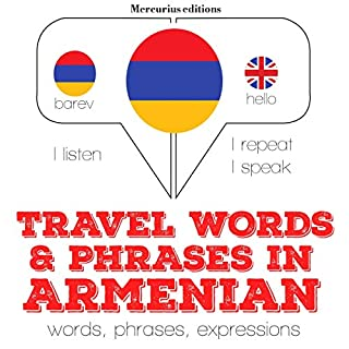 Travel words and phrases in Armenian cover art