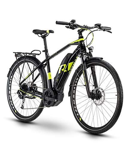 RAYMON Tourray E 4.0 Pedelec E-Bike Trekking Fahrrad schwarz/grün 2020: Größe: 60 cm